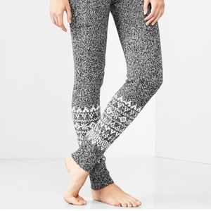 Wool Patterned Leggings